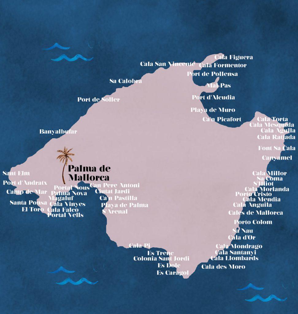 Mallorca Karte Strände.Mallorca Momente Die Schönsten Seiten Der Insel