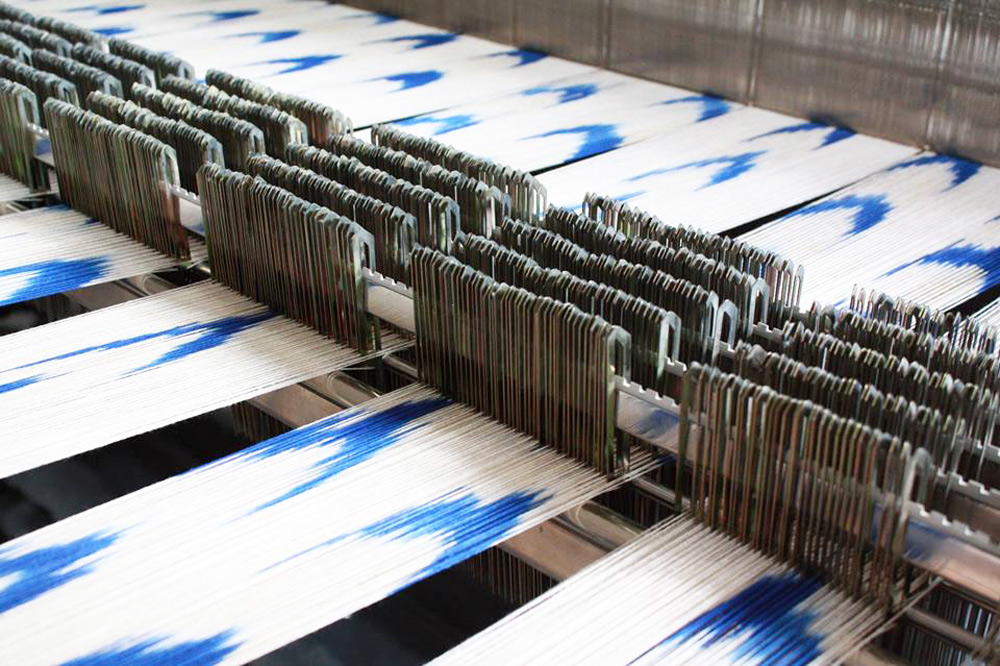 Teixits Vicens Webstuhl Mallorca Kunsthandwerk