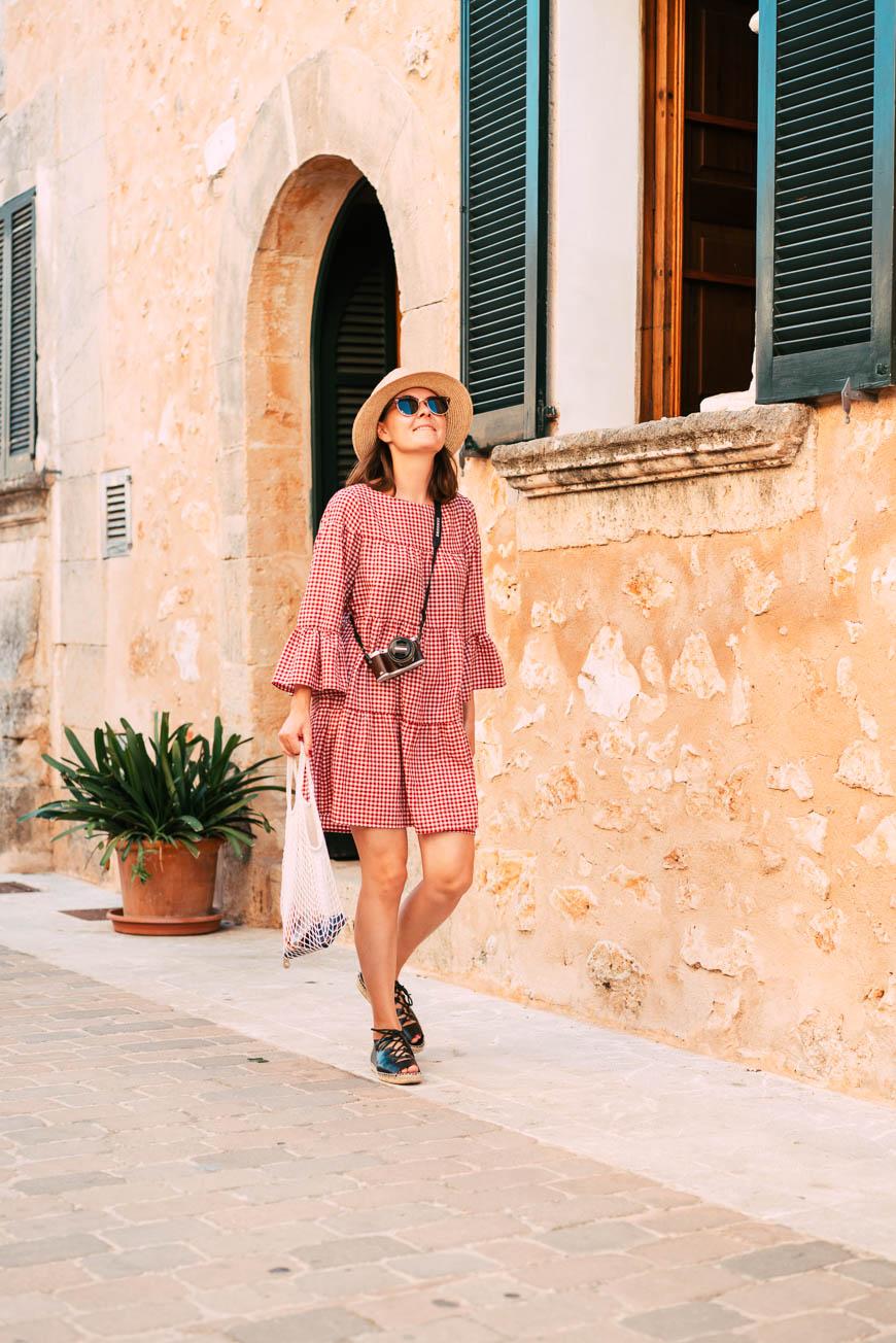 Netztasche, Strandtasche, Trend, Mallorca, Einkaufen gehen,